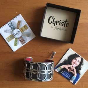 Brighton Christo NYC Wise Cuff Bracelet